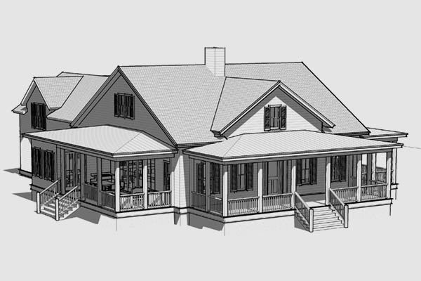 Custom House Plans - JHN Residential Building Design